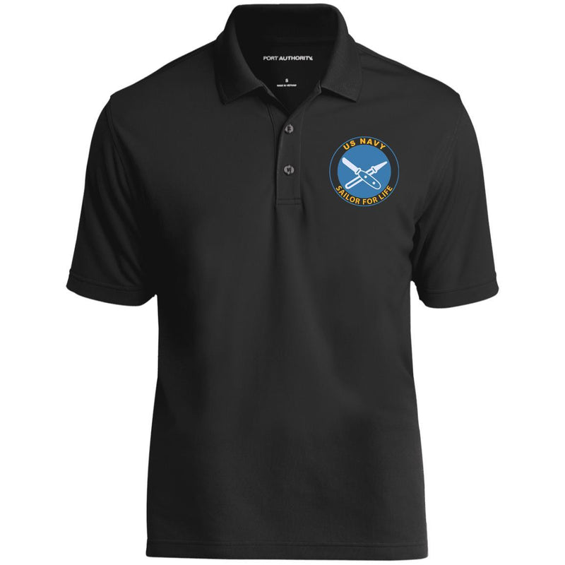 US Navy Lithographer LI Logo_SFL Embroidered Port Authority® Polo Shirt