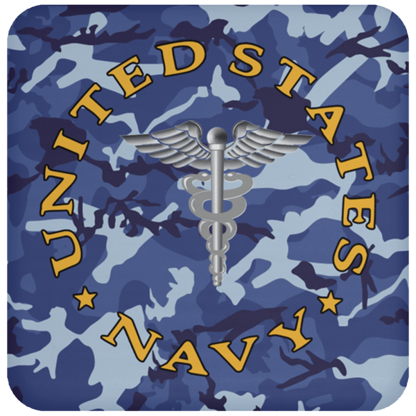 U.S Navy Hospital Corpsman Navy HM - Proudly Served Coaster
