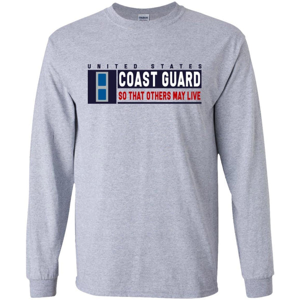 US Coast Guard W-3 Chief Warrant Officer So That Others May Live Long Sleeve - Pullover Hoodie