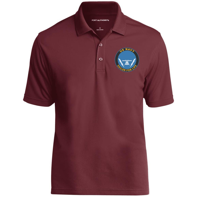 US Navy Fire Controlman FC Logo_SFL Embroidered Port Authority® Polo Shirt