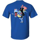 Lincoln Dinosaur Beer Merica Flag Back T Shirts
