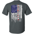 Veteran America Flag T Shirt
