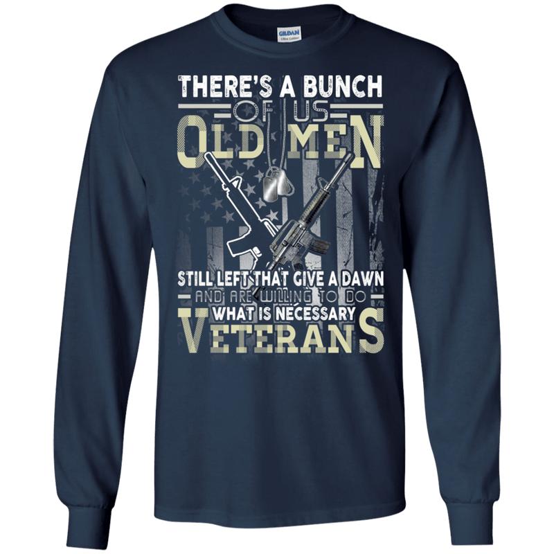 OLD MEN VETERAN T SHIRT