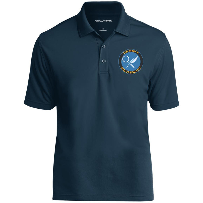 US Navy Intelligence Specialist IS Logo_SFL Embroidered Port Authority® Polo Shirt