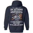 I am A US Veteran With Skill Sitll Remain Men Back T Shirts