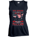 We Stand For The Flag Knell For The Fallen Female Veteran Front T-Shirt