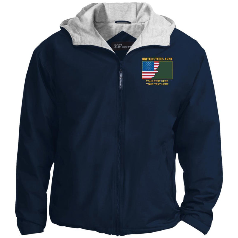 US Army Ranks - Personalized Embroidered Port Authority® Team Jacket