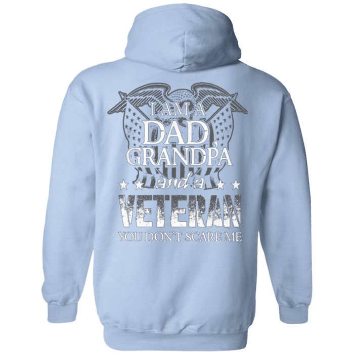 I am Dad Grandpa And A Veteran Hoodie