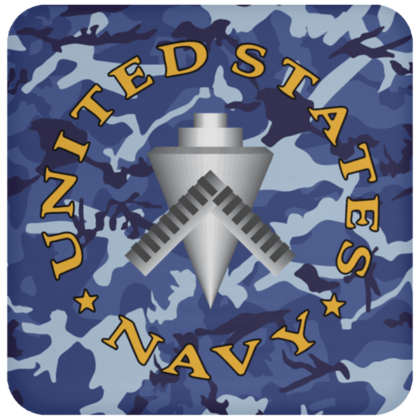 U.S Navy Builder Navy BU - Proudly Served Coaster