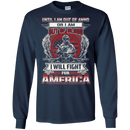 I WILL FIRE FOR AMERICA T SHIRT