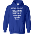 I DO WHAT I WANT VETERAN TSHIRT