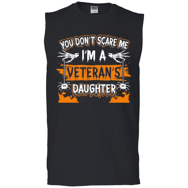 Don't Scare ,e, I'm A Veteran's Daughter T Shirt