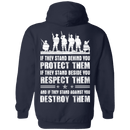 Protect Them - Respect Them - Destroy Them Veteran T Shirt