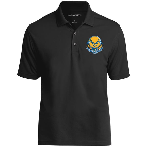 US Air Force Symbol Logo Birthday 72nd Embroidered Polo Shirt