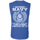 Retired Navy Been There Done That And Damn Back T Shirts