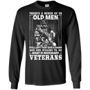 OLD VETERAN ARE WILLING TO DO TSHIRT