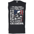 Airforce Veteran I love Being A Grandpa Men Front T Shirts