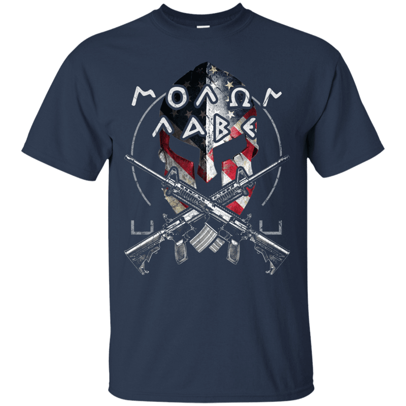 Veteran - Molon Labe - Come And Take Them T Shirt