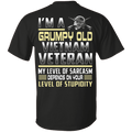 I'm A Grump Old Vietnam Veteran T Shirt