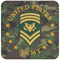 US Army E-9 SPC E9 Specialist Ranks Coaster