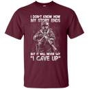 I DON'T KNOW HOW MY STORY ENDS T SHIRT