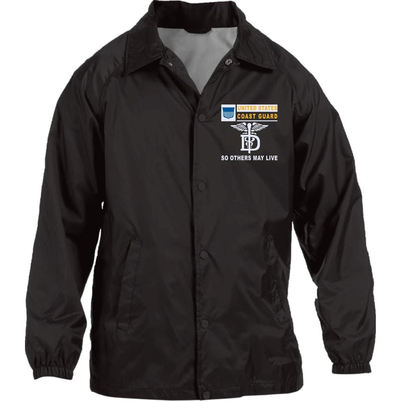 US Coast Guard Dental Technician DT- So others may live Embroidered Sport-Tek Jersey-Lined Jacket