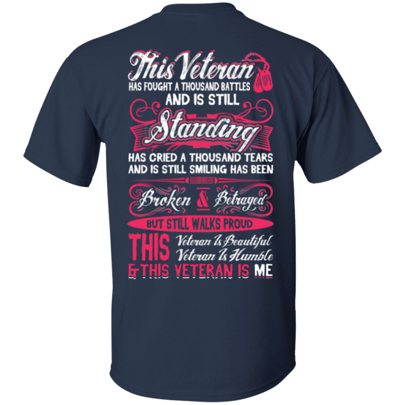 This Veteran is Beautiful and Humble T-Shirt