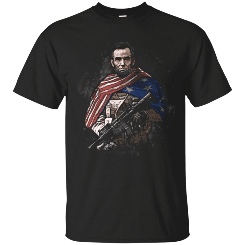 Independent Day - Abraham Lincoln Soldier Presidents T Shirt