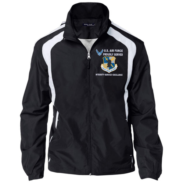 US Air Force Intelligence Command Proudly Served-D04 Embroidered Sport-Tek Jersey-Lined Jacket