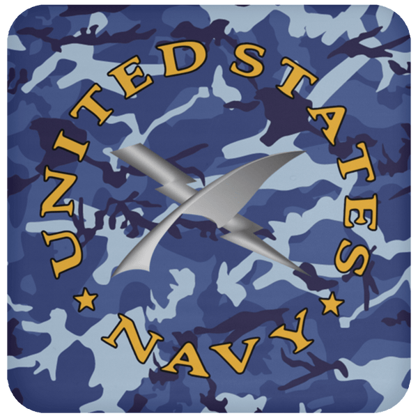 U.S Navy Cryptologic technician Navy CT - Proudly Served Coaster