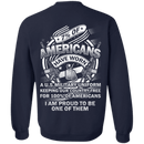 7% of Americans Have Worn Proud To Be one of Them Men Back T Shirts