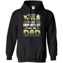 "Military T-Shirt ""Some People Call Me a Veteran The Most Important Call Me Dad"""