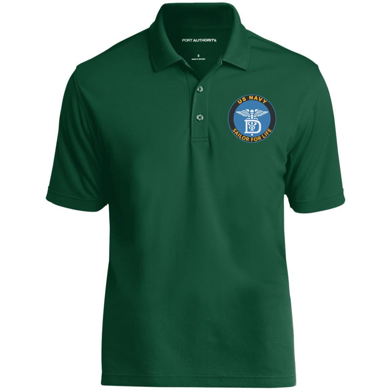 US Navy Dental Technician DT Logo_SFL Embroidered Port Authority® Polo Shirt