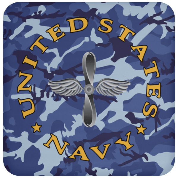 U.S Navy Aviation machinist's mate Navy AD - Proudly Served Coaster