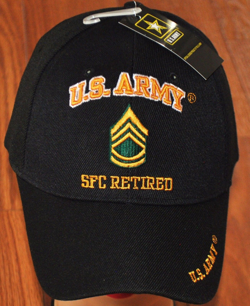 US Army E-7 Sergeant First Class E7 SFC Retired Hats Officially Licensed
