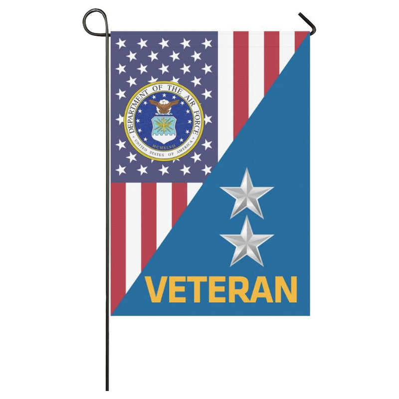 US Air Force O-8 Major General Maj Veteren House Flag 28 inches x 40 inches Twin-Side Printing