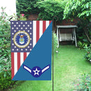 US Air Force E-2 Airman Amn House Flag 28 inches x 40 inches Twin-Side Printing