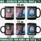 US Navy Officer - Personalized 11oz - 15oz Black Mug