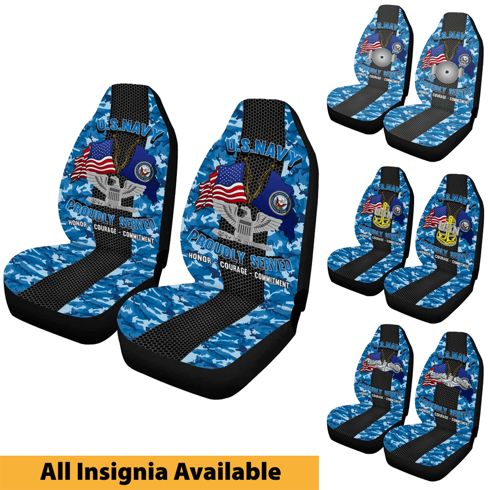 Us Navy Seat Covers Veterans Nation