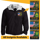 US Army Personalized Insignia Embroidered Team Jacket