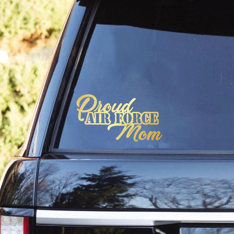 Proud Air Force Family Clear Stickers
