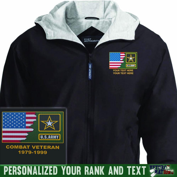 US Army Logo - Personalized Embroidered Port Authority® Team Jacket