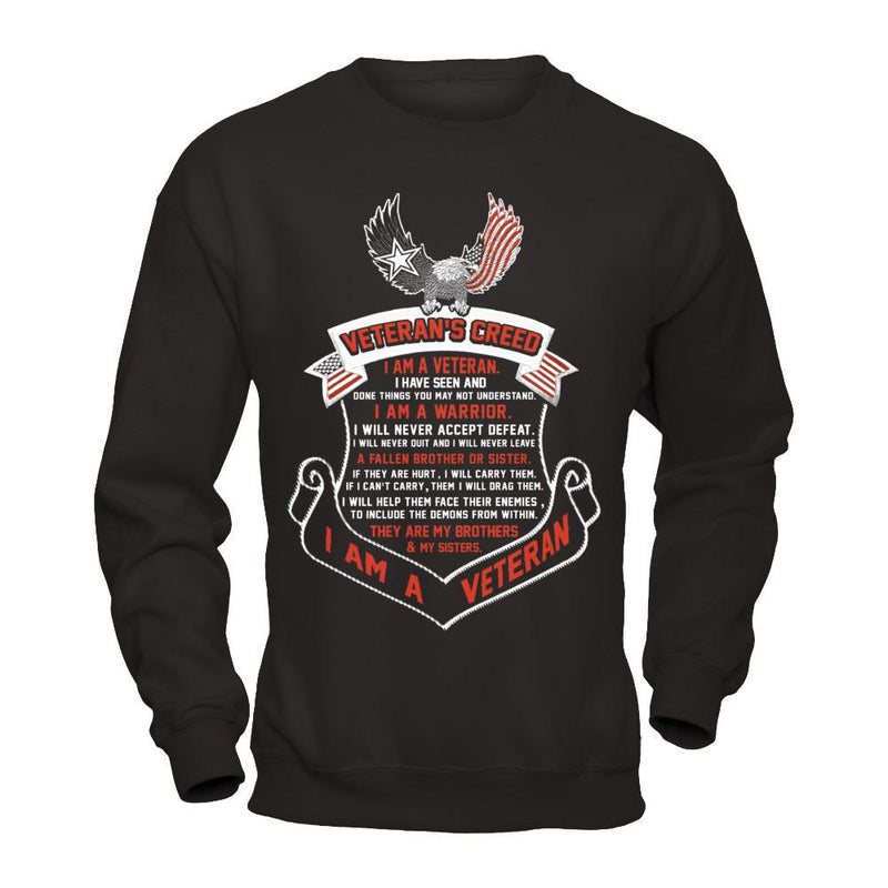Veteran's Creed T Shirt