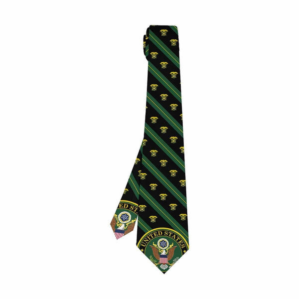 US Army Quartermaster Corps  Classic Necktie (Two Sides)
