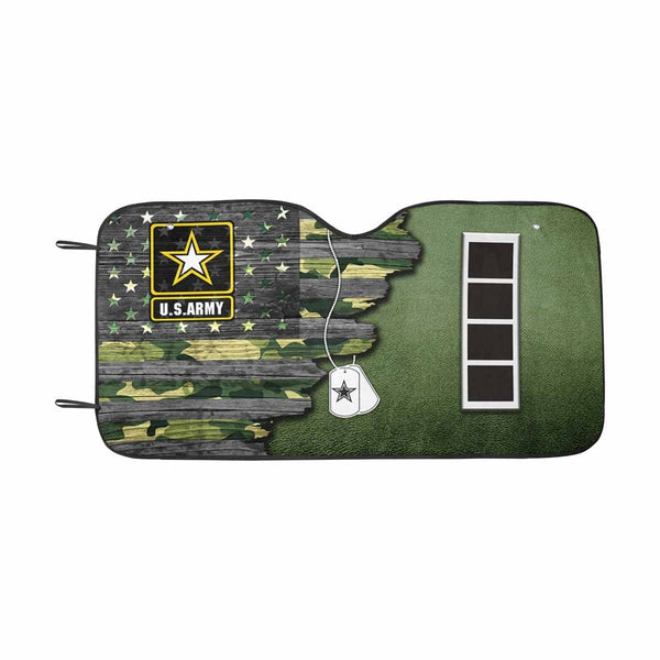 US Army W-4 Chief Warrant Officer 4 W4 CW4 Warrant Officer Ranks  Auto Sun Shade 55 Inches x 29.53 Inches