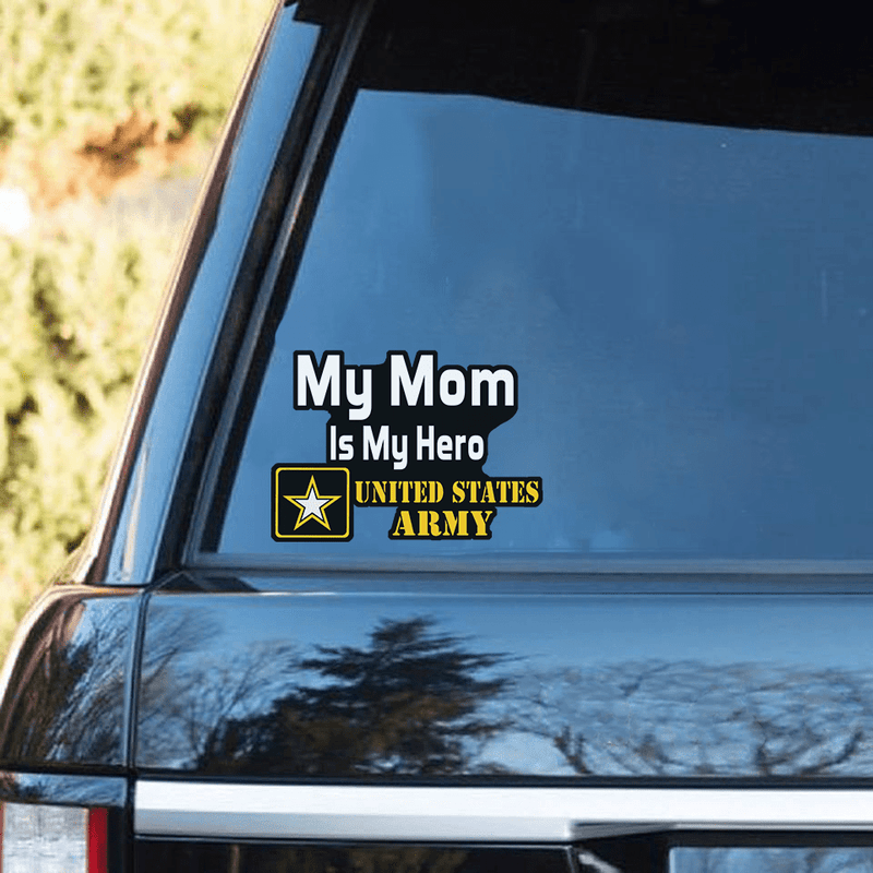 My Family Is My Hero United States Army Standard Sticker