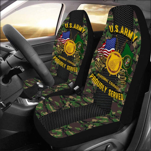 U.S. Army Transportation Corps Car Seat Covers (Set of 2)