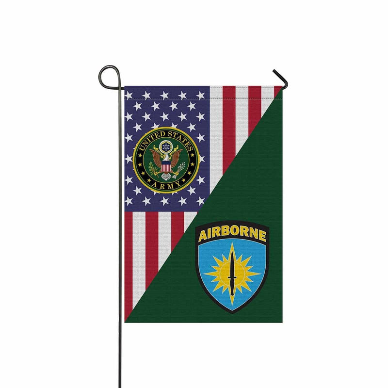 US ARMY SPECIAL OPERATIONS COMMAND PACIFIC Garden Flag/Yard Flag 12 inches x 18 inches Twin-Side Printing