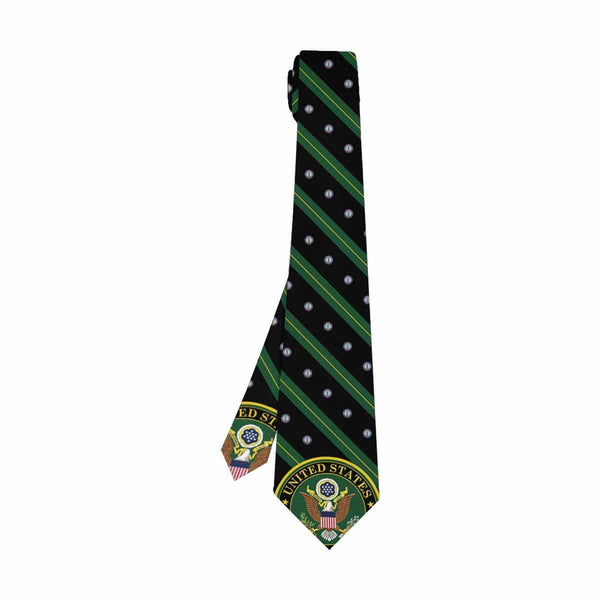 US Army National Guard  Classic Necktie (Two Sides)
