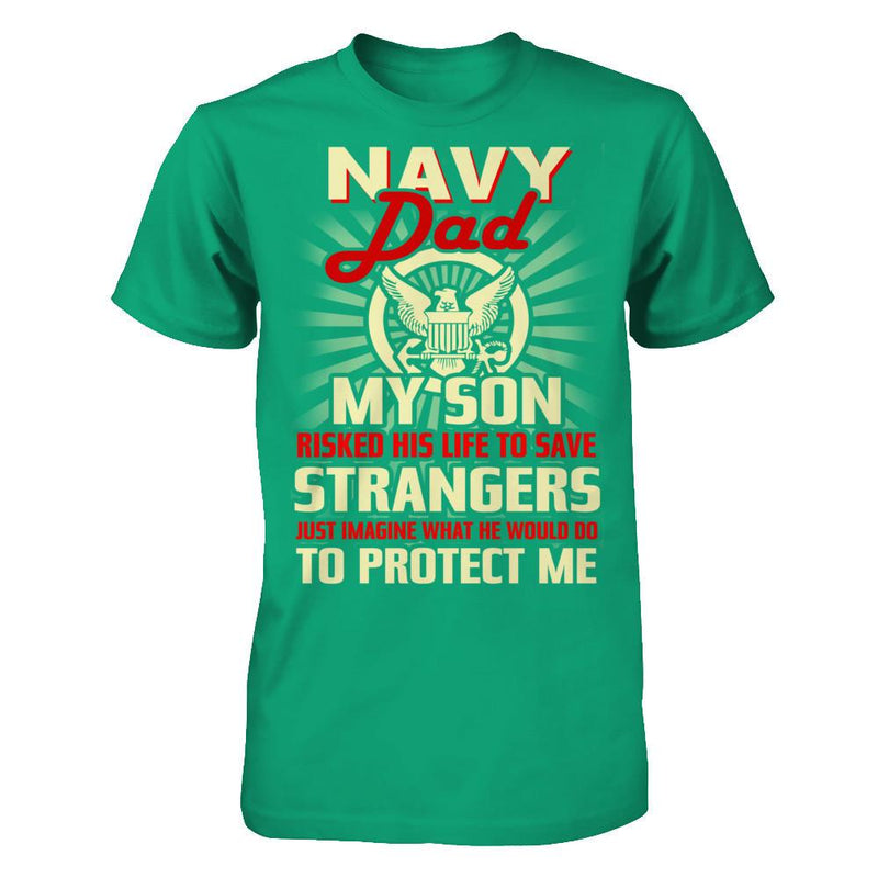 Navy Dad - Gift for Father's Day T Shirt